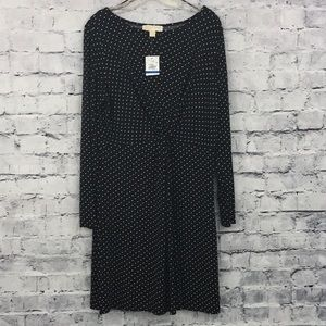 Michael Kors Star Polka Dot Dress 01014